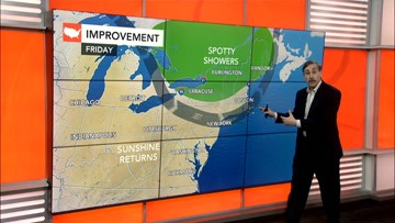 Father's Day weekend outlook for the East