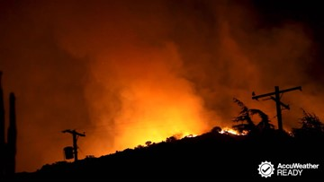 What to do if you are trapped in a wildfire
