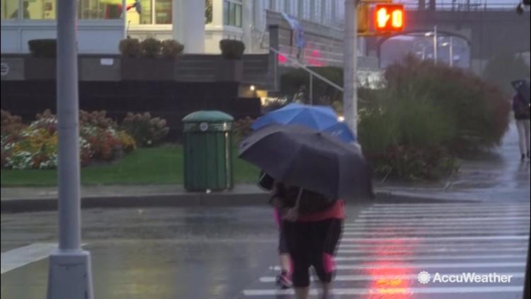 Devastating downpour lashes the northeast