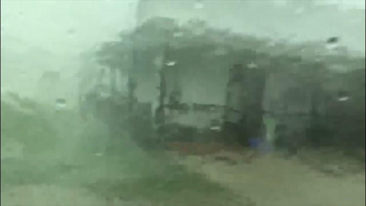 Severe thunderstorms slam southern Louisiana