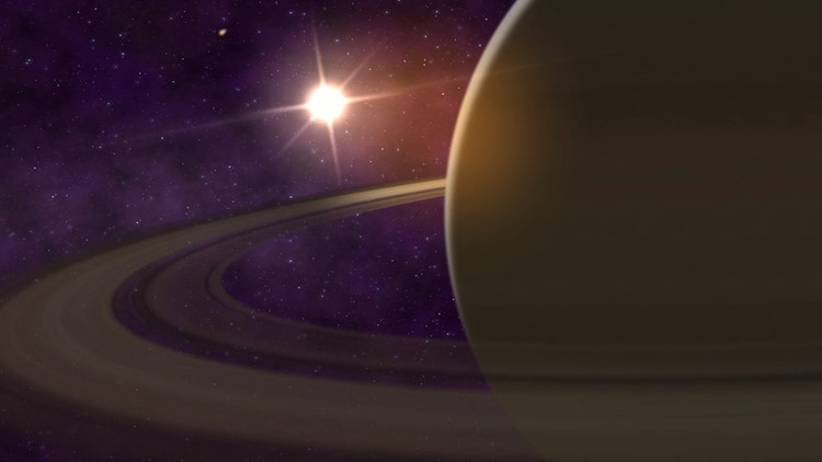 Wobbles in Saturn's Rings Reveal 'Fuzzy' Interior