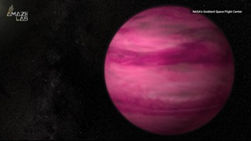 This Planet's So Hot, It's Bright Magenta Pink