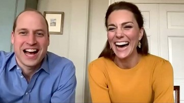Prince William and Kate Middleton Surprise U.K. Primary School With a Video Call
