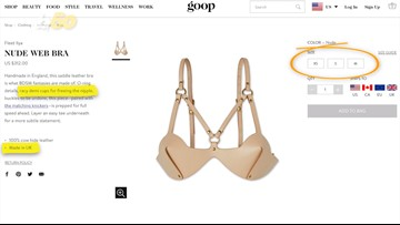 Gwyneth Paltrow's Goop is Selling BDSM Leather Lingerie