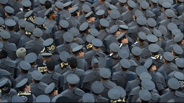 Sexual assault, harassment spike at US military academies