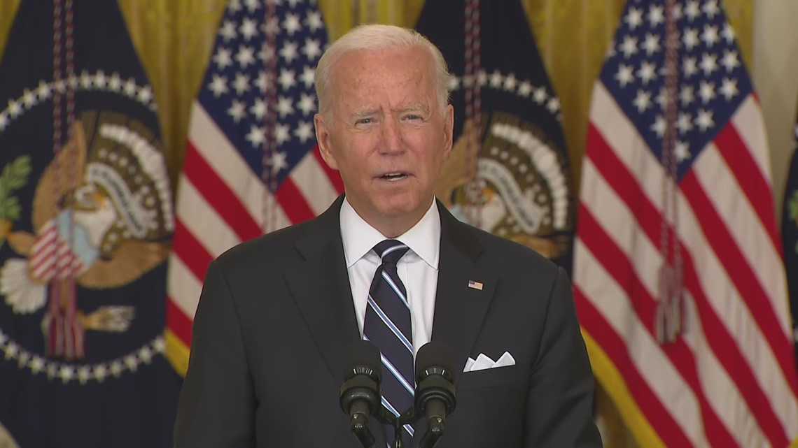 Biden discusses plan for COVID-19 booster shots