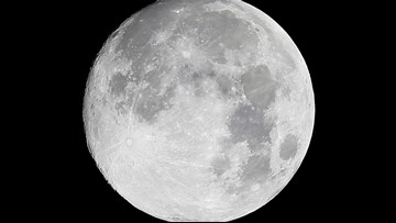 Rare Friday the 13th full moon to appear this week