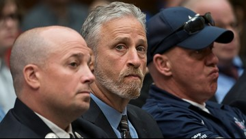 Watch Jon Stewart scold Congress for skipping 9/11 victims fund hearing