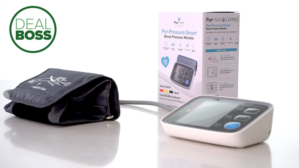 This blood pressure monitor is smart, portable and on sale