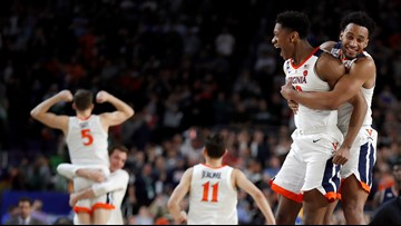 Final Four: Virginia beats Auburn on 3 free throws in final second