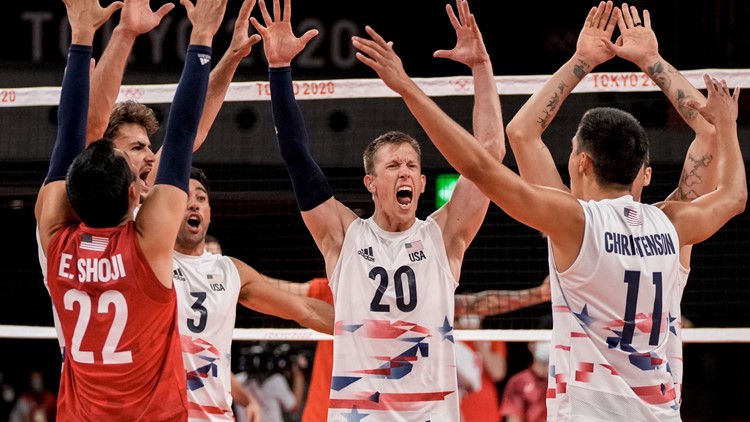 Dad's club leads to bonding for US men's volleyball team