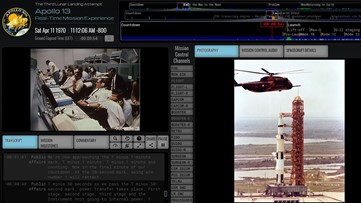 Here's how you can experience the Apollo 13 mission in real-time