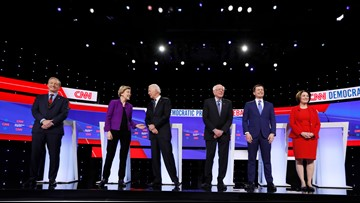 Qualifications for Democratic presidential debate in South Carolina released
