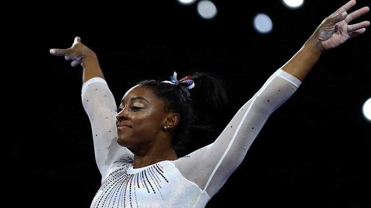 Germany Gymnastics World Championships Simone Biles