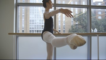 In the fight for her life, dancer credits ballet in overcoming 'the perfect storm'