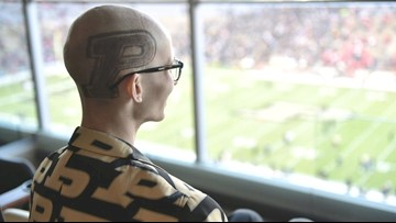 Tyler Trent, Purdue student battling cancer, was there when his team upset Ohio State