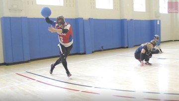 'You're not thinking of your blindness': Man with vision loss finds hope in sport called goalball