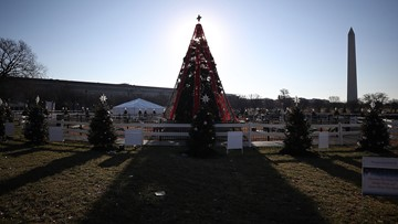 An icon of Christmas cheer went dark, some parks close