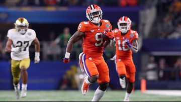 Clemson cruises past Notre Dame into College Football Playoff title game