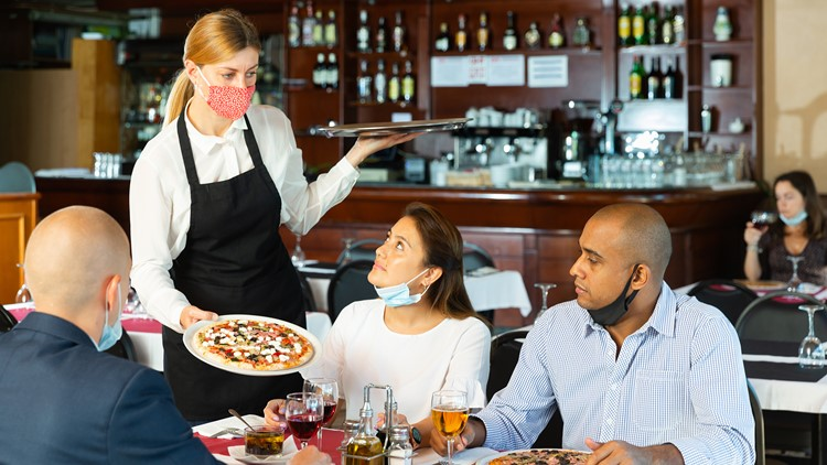 Mask mandates and dining out can affect COVID spread, CDC study finds