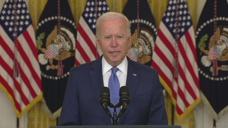 Biden discusses plans for economy, middle class