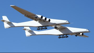 World's largest plane completes historic first flight