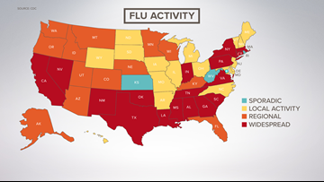 Winter flu season is here early, could be intense
