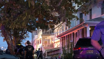 Decks collapse during firefighter event in New Jersey; at least 22 injured