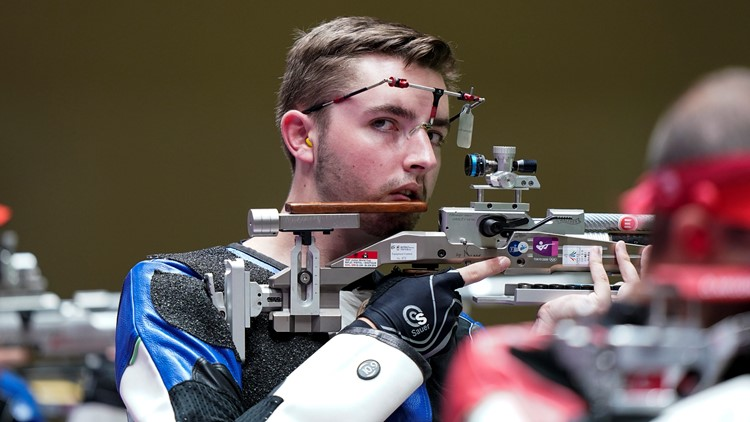 US shooter sets Olympic record in gold-medal win