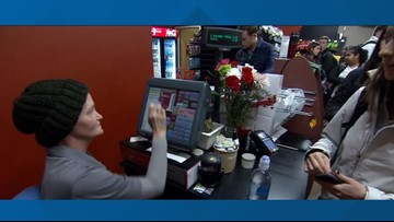 Indiana University students raise money for cashier fighting breast cancer