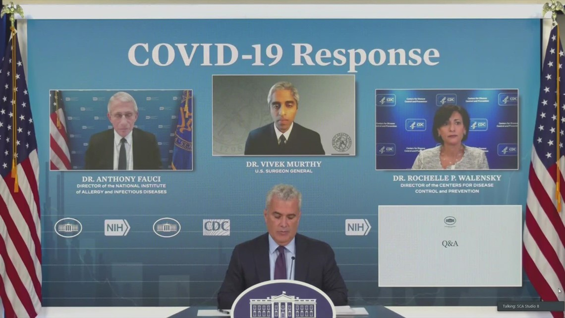 White House COVID response team discusses pathway for Merck treatment
