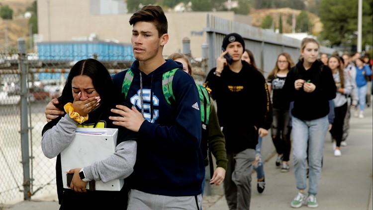 APTOPIX California High School Shooting