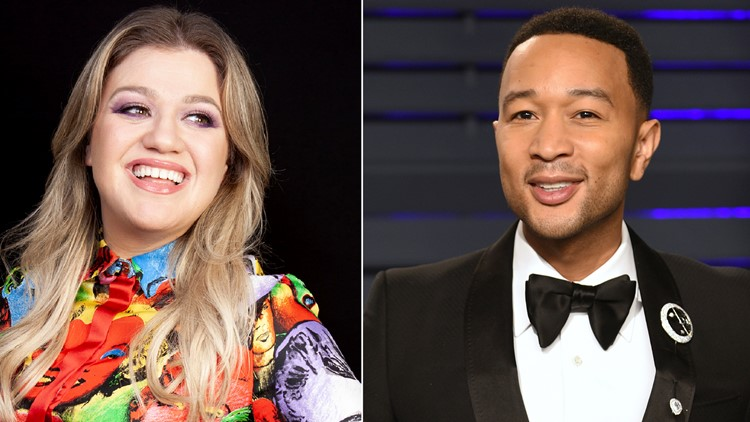 John Legend and Kelly Clarkson