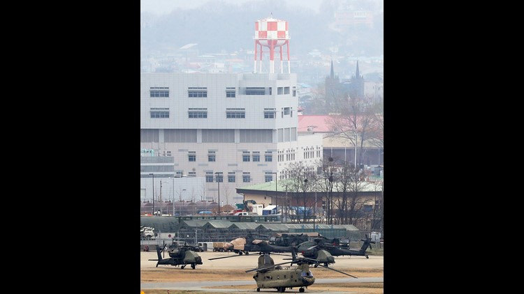 EPA SOUTH KOREA USA DEFENSE POL DEFENCE KOR