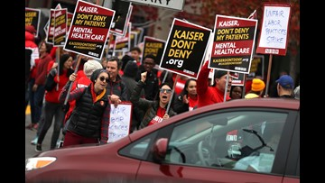 Kaiser Permanente mental health workers begin strike: 'Our patients are suffering'