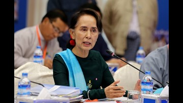 Amnesty strips human-rights award from Aung San Suu Kyi over Rohingya atrocities in Myanmar