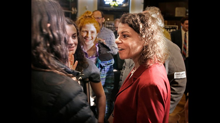Liberal cruises in Wisconsin court race, and Dems see hope