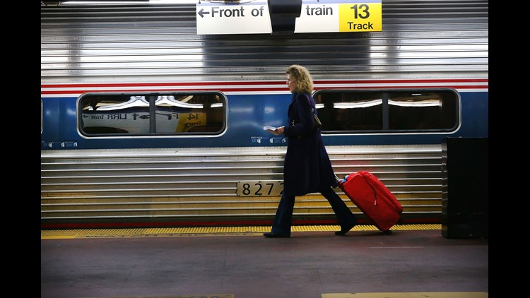 Freight Derailment Slows Amtrak Service Between Philadelphia, Washington