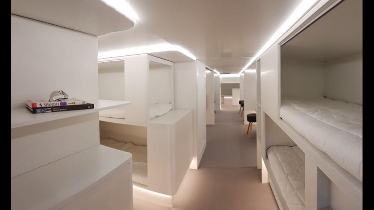 Airbus To Develop Cargo Sleeping Berths