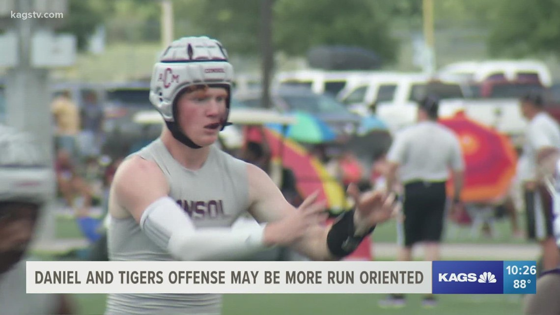 Brodie Daniel gets the starting nod at quarterback for A&M Consolidated