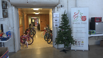 Local Salvation Army needs Angel Tree Donations
