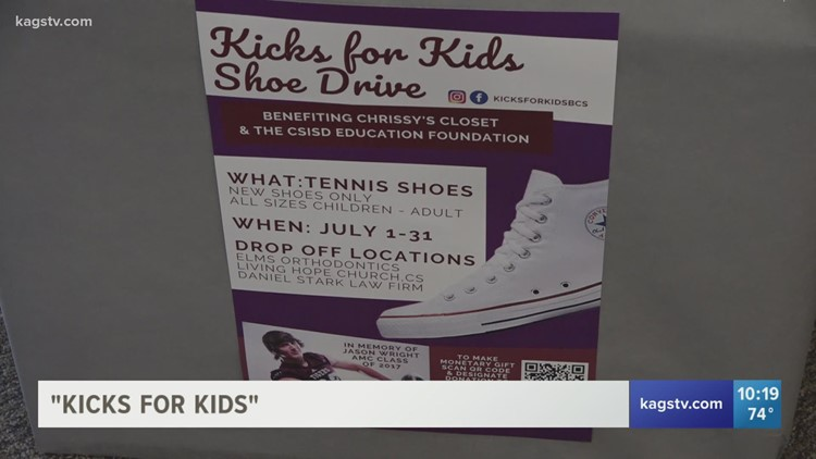Kicks for Kids | College Station teen's legacy lives on one step at a time