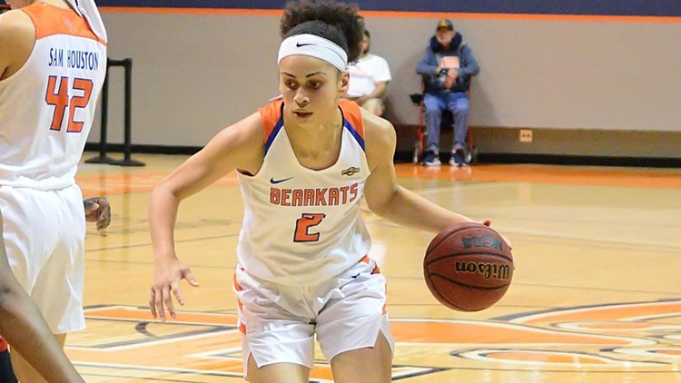 Southland Conference Player of the Year Amber Leggett enters transfer portal