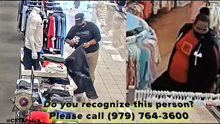 College Station PD releases video of woman reportedly shoplifting, seeks help to ID her