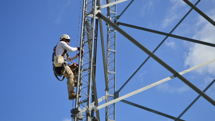 TEEX tower technician course