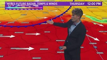 Wednesday night video forecast