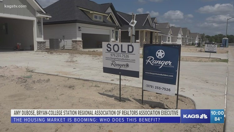 Bryan College Station Regional Association of Realtors see an increase in housing sales