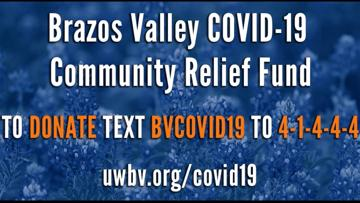 Brazos Valley COVID-19 Community Relief Fund Phase I Award Recipients Announced