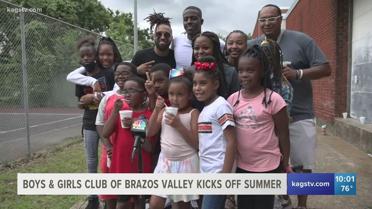 Local artist gives back to Brazos Valley Boys and Girls Club