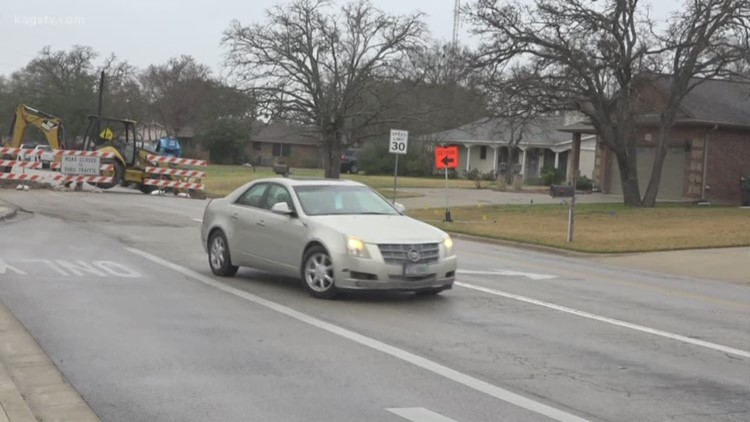Section of Carter Creek PKWY closed for 4 weeks